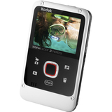 "Kodak PLAYFULL Ze2 Digital Camcorder - 2"" LCD - CMOS - HD - White 8203713"