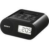 Sony ICF-C05IP Desktop Clock Radio - 0.8 W RMS - Mono - Apple Dock Interface ICFC05IPB