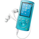 Sony Walkman NWZE465L 16 GB Blue Flash Portable Media Player NWZE465L