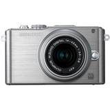 Olympus PEN E-PL3 12.3 Megapixel Mirrorless Camera (Body with Lens Kit) - 14 mm - 42 mm - Silver V205031SU000