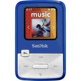 SanDisk Sansa Clip Zip SDMX22-004G-A57B 4 GB Flash MP3 Player - Blue
