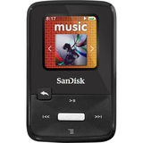 SanDisk Sansa Clip Zip SDMX22-004G-A57K 4 GB Flash MP3 Player - Black