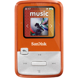 SanDisk Sansa Clip Zip SDMX22-004G-A57O 4 GB Flash MP3 Player - Orange