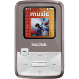 SanDisk Sansa Clip Zip SDMX22-008G-A57G 8 GB Flash MP3 Player - Gray