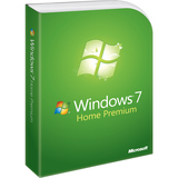 Microsoft Windows 7 Home Premium With Service Pack 1 32-bit - License and Media - 1 PC QGF-00154