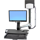 Ergotron StyleView Multi Component Mount for CPU, Flat Panel Display, - 45270026