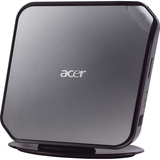 Acer Veriton PS.VBHP2.001 Nettop Computer - Intel Atom 1.80 GHz - Mini PC - Black, Gray PS.VBHP2.001