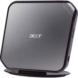Acer Veriton PS.VBHP3.004 Nettop Computer - Intel Atom D525 1.80 GHz - Mini PC - Black, Gray PS.VBHP3.004