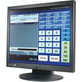 "Logic Controls LE1017 17"" LCD Touchscreen Monitor - 8 ms LE1017M"