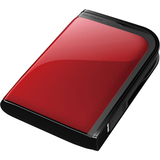Buffalo MiniStation Extreme HD-PZU3 HD-PZ1.0U3R 1 TB External Hard Drive - Red HD-PZ1.0U3R