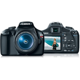 Canon EOS Rebel T3 12.2 Megapixel Digital SLR Camera (Body with Lens Kit) - 18 mm - 55 mm - Black 5157B004