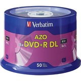 Verbatim DVD Recordable Media - DVD+R DL - 8x - 8.50 GB Spindle - 97000