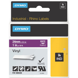 Dymo White on Purple Color Coded Label 1805428