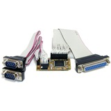 StarTech.com 2s1p Serial Parallel Combo Mini PCI Express Card for Embedded Systems MPEX2S1P552