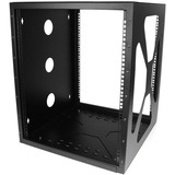 StarTech.com 12U 19in Wall Mount Side Mount Open Frame Rack Cabinet RK1219SIDEM