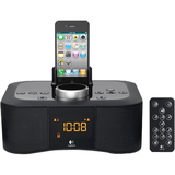 Logitech S400i Clock Radio - Stereo - Apple Dock Interface - Proprietary Interface 980-000613