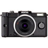 15073 - Pentax Q 12.4 Megapixel Mirrorless Camera (Body with Lens Kit) - 8.50 mm - Black