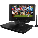 "Envizen Digital Quartet 9 ED8890A Portable DVD Player - 9"" Display ED8890A"