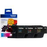 Brother Innobella LC713PKS Ink Cartridge - Cyan, Yellow, Magenta - LC713PKS