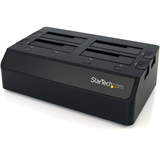 4 Bay USB 3.0 to SATA Hard Drive Docking Station for 2.5/3.5 - SATDOCK4U3
