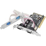 SIIG 4-port PCI Serial Adapter JJ-P04511-S1
