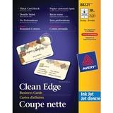 Avery Clean Edge 88221 Business Card 88221
