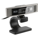 HP HD 5210 Webcam - Black - USB 2.0 - LR374AAABA