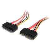 StarTech.com 12in 22 Pin SATA Power and Data Extension Cable - SATA22PEXT