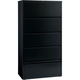 Lorell Receding Lateral File with Roll Out Shelves - 43513