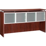 "Lorell 68600 Series Hutch - 72"" - Aluminum PVC Glass - Durable Stain Resistant"