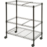 Lorell Mobile Wire File Cart 45650