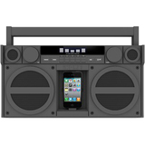iHome iP4 Speaker System - Gray - IP4GZC