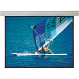 "Draper Silhouette Electric Projection Screen - 84"" - 4:3 - Wall Mount, Ceiling Mount 108221L"