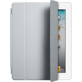 Apple iPad Smart Cover Light Grey - Polyurethane