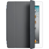 Apple iPad Smart Cover Dark Grey - Polyurethane