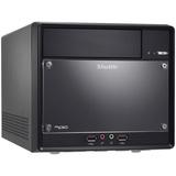 Shuttle XPC SH61R4 Barebone System Mini PC - Intel H61 Express Chipset - Socket H2 LGA-1155 - 1 x Processor Support - Black SH61R4