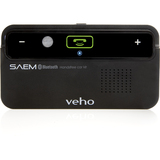 Veho SAEM Wireless Bluetooth Car Hands-free Kit - USB - VBC001BLK