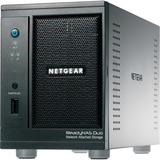 Netgear ReadyNAS Duo V2 NAS SATA RAID 0/1 2BAY Diskless HOME/SOHO