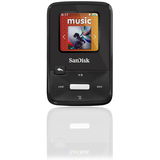 SanDisk Sansa Clip Zip 4 GB Flash MP3 Player - Black SDMX22-004G-C57K