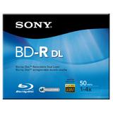 Sony BNR50R2H Blu-ray Recordable Media - BD-R DL - 4x - 50 GB BNR50R2H