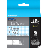 Epson Standard LC Tape Cartridge Gray on Blue Check - LC4CAY9