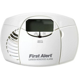First Alert Battery Operated Carbon Monoxide Alarm with Digital Displa - CO410
