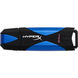 Kingston DataTraveler HyperX 64 GB USB 3.0 Flash Drive - Blue, Black DTHX30/64GB