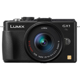 Panasonic Lumix DMC-GX1 16 Megapixel Mirrorless Camera (Body with Lens - DMCGX1KK
