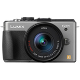 Panasonic Lumix DMC-GX1 16 Megapixel Mirrorless Camera (Body with Lens - DMCGX1KS