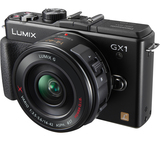 Panasonic Lumix DMC-GX1 16 Megapixel Mirrorless Camera (Body with Lens - DMCGX1XK