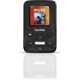 SanDisk Sansa Clip Zip 8 GB Flash MP3 Player - Black SDMX22-008G-C57K