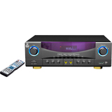 PylePro PT980AUH A/V Receiver - 350 W RMS - 7.1 Channel - Gray, Black