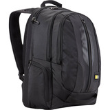 "Case Logic RBP-115 Carrying Case (Backpack) for 15.6"" Notebook - Black - RBP115BLACK"