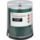 DataLocker EncryptDisc DLCD100 CD Recordable Media - CD-R - 700 MB - 100 Pack